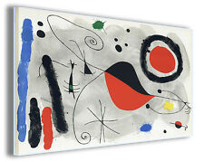 Quadri famosi Joan Mirò vol V Stampa su tela arredo moderno arte design canvas