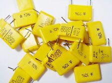 100 x Folien Kondensator 0,0022uF 2,2nF 1000Vdc WIMA FKC-3 lose #19F41#