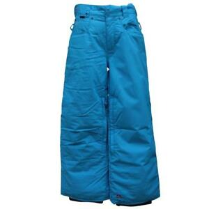 Quiksilver-KANUT-Plain-Snow-Pant-Childrens-Boys-12-Blue-Ski-Snowboard-Waterproof