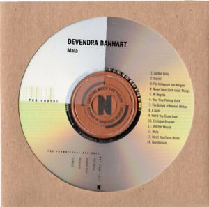 DEVENDRA-BANHART-Mala-2013-UK-14-track-PROMO-CD-album-FREE-UK-SHIPPING