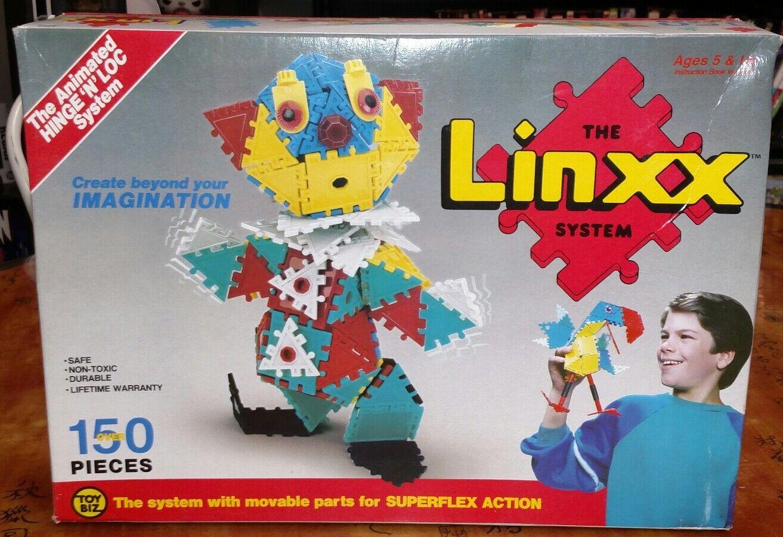 Sehr selten toybiz der linxx system new in box ber 150 stcke 1988   4150 superflex