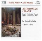 Ambrosian Chant (CD, Mar-1996, Naxos (Distributor))