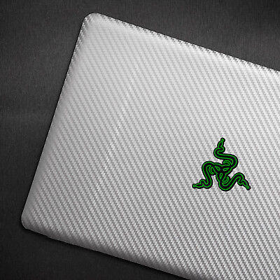 Laptop Carbon fiber Vinyl Skin Sticker Cover For Razer Blade Stealth 12.5-inch