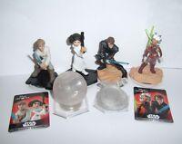 Disney Infinity Anakin Ahsoka Luke Leia Figure Death Star Twilight Crystal Piece