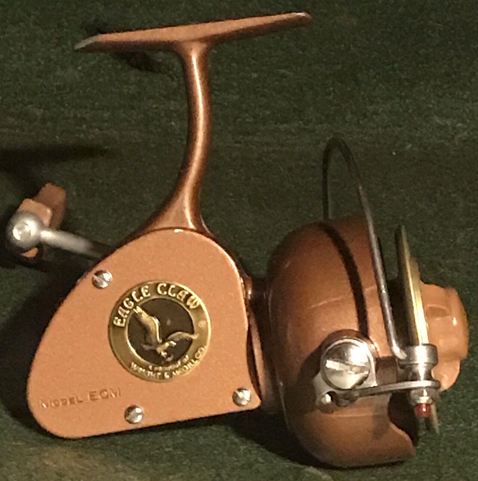 Vintage Eagle Claw Model ECM med låda och xtra spool.Tillverkad i Amerika.