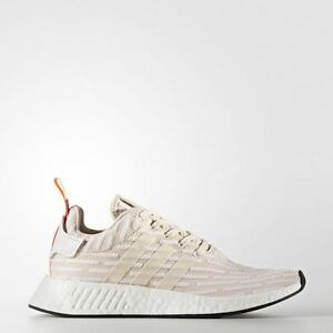 Adidas BA7260 Men NMD R2 Running shoes beige white Sneakers