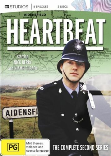 1 of 1 - Heartbeat : Series 2 (DVD, 2012, 3-Disc Set) Brand New & Sealed Region 4