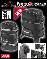Bolsa moto de Depósito Givi Ea103b expandible soporte mapa con imanes