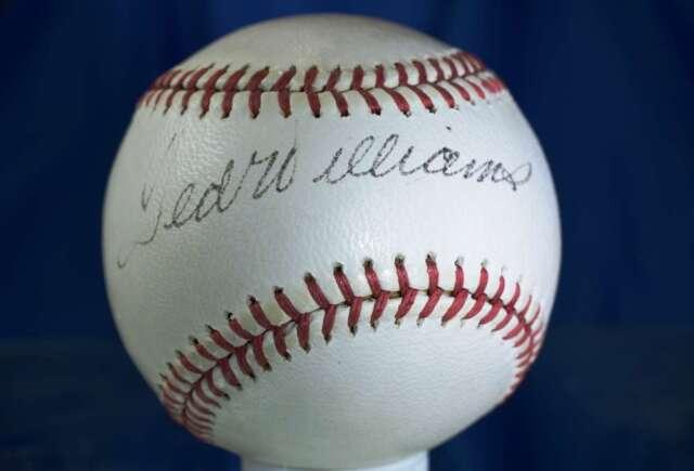 dbd5bd9b870 TED WILLIAMS JSA SIGNED REACH CRONIN AMERICAN LEAGUE AUTOGRAPH BASEBALL