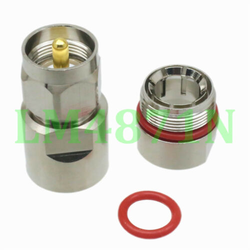 """1pce Connector PL259 UHF male 1//2/"""" for Corrugated copper Standard Andrew Heliax"""