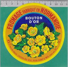 J127 FROMAGE 200 GR  VEYS MANCHE ISIGNY SUR MER CALVADOS BOUTON D OR