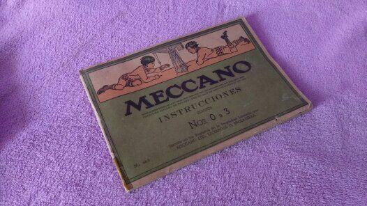 INSTRUCCIONES MECCANO NOS 0 A 3 EQUIPOS. 46.3 LIVERPOOL, ENGLAND