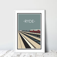 Isle Of Wight Ryde ENG Photochrome EPC437 Art Print A4 A3 A2 A1