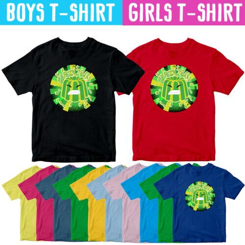 Jelly virale Gamer CERCHIO Kids T Shirt YouTube Player youtuber Fan Tee Top
