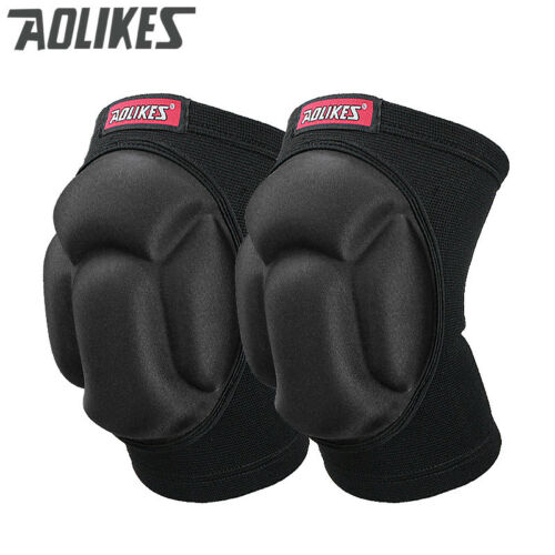 Protector Sponge Knee Pads Adjustable Basketball Volleyball Support Sport 1 Pair
