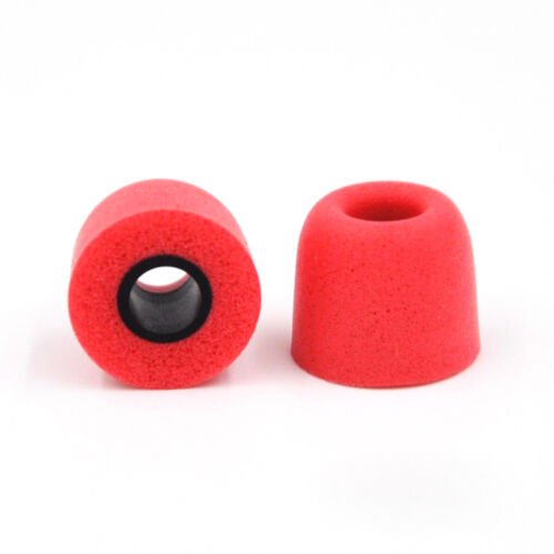3Pairs for Earphone Memory Foam Soft Earbuds Noise Isolating Earmuffs Eartips UK