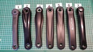BICYCLE CRANK ARM CRANKSET L//H FOR SQUARE//DIAMOND BB SIDE VARIOUS MAKE AND SIZE