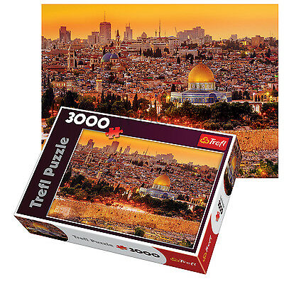 Trefl 3000 Piece Adult Large Jerusalem Roofs View Israel Holy Jigsaw Puzzle NEW