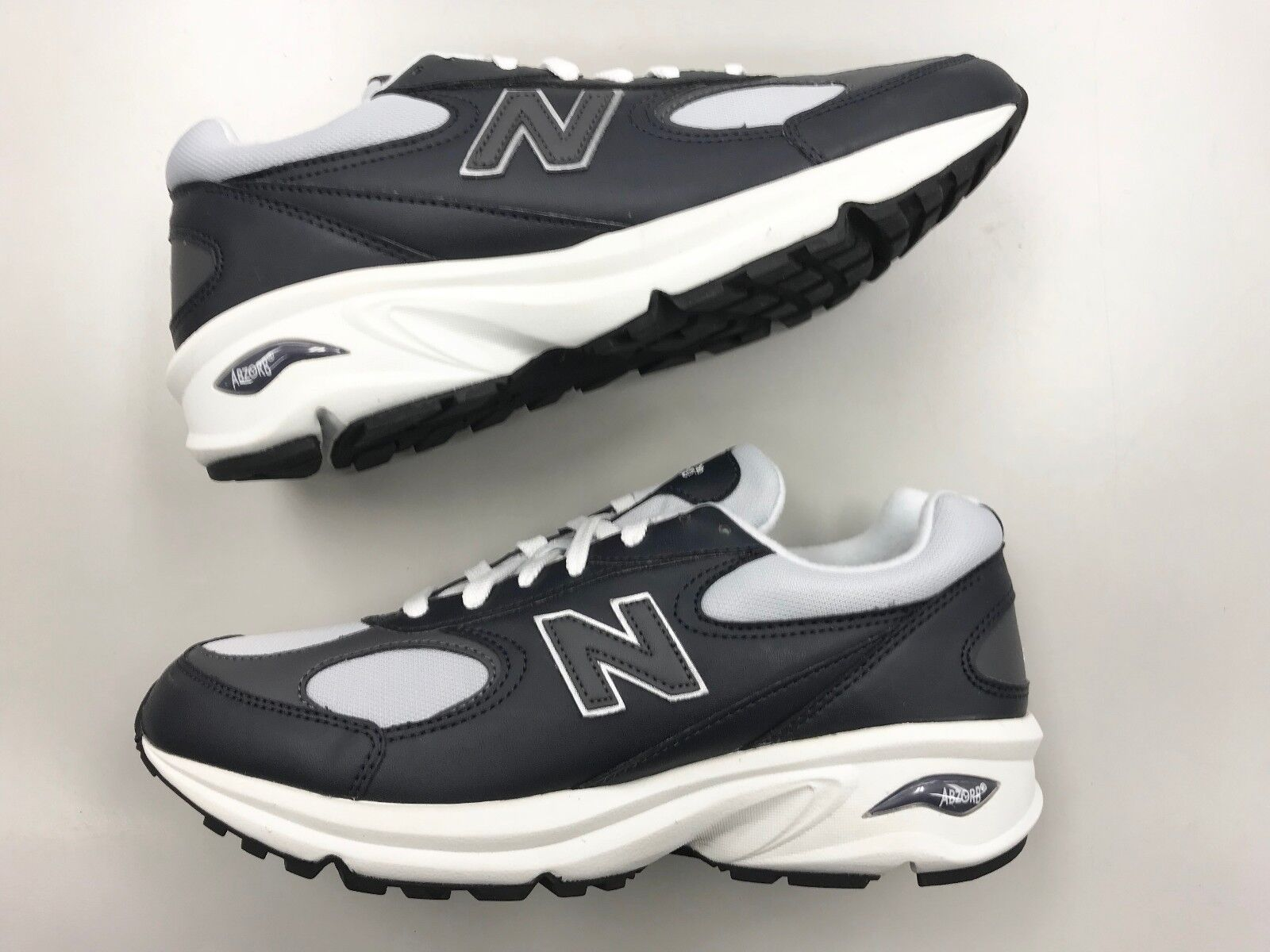 Brand New hommes New Balance M498 FFB Navy Leather running walking chaussures 0 9 7 1