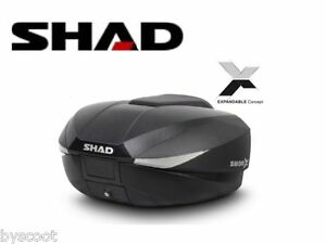Top-Case-SHAD-SH58X-topcase-extensible-46L-a-58L-carbone-moto-scooter-NEUF