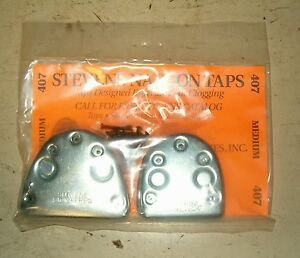 Stevens-Stompers-Nail-on-Regular-Or-Buck-Taps-For-Clogging-Step-Tap-Set-NWT