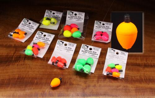 BISSANZEIGER Tapered Slip Hareline USA 2 Größen 5 Farbvarianten Bissanzeiger