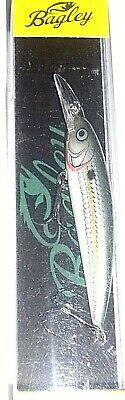 BAGLEY Balsa Minnow 10 Lot of 2 Crankbait  Walleye  Bass lure Rapala 5//8 oz