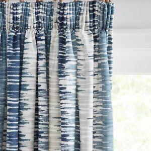 John-Lewis-Ikat-Pair-Lined-Pencil-Pleat-Curtains-Blue-W167-x-D228cm-A
