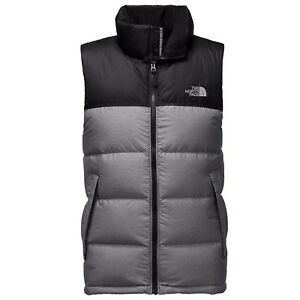 4266246051 THE NORTH FACE Mens 2018 NUPTSE VEST TNF Medium Grey Heather   TNF ...