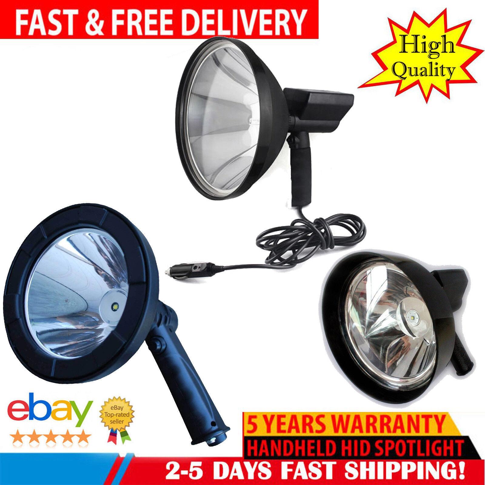 1000W HID Hand held LED Car Camping Spot Light Spotlight Hunting Fishing OffRoad