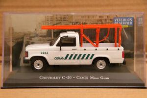Altaya-1-43-Chevrolet-C-20-Cemig-Minas-Gerais-Auto-Car-Diecast-Models-IXO-Toys