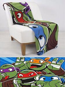daca492c7ee EXTRA LARGE Super Soft Teenage Mutant Ninja Turtles Fleece Blanket ...