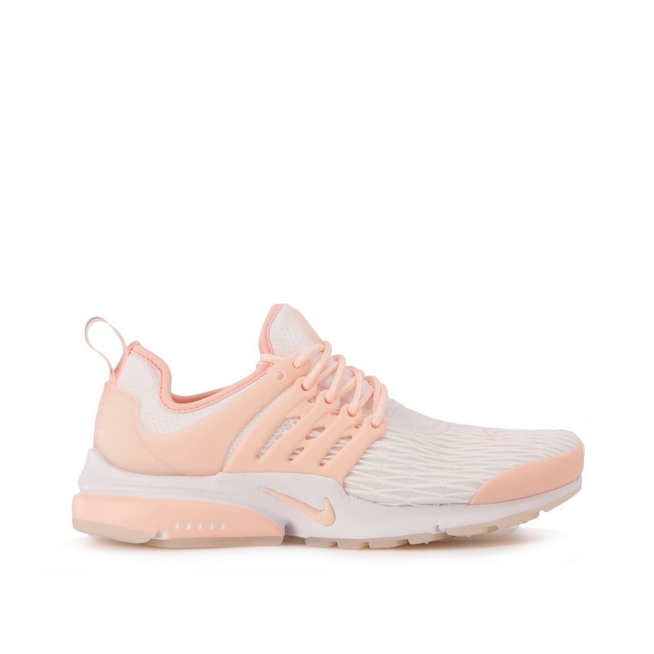 damen Nike Air Presto Premium Weiß Trainers 878071 102