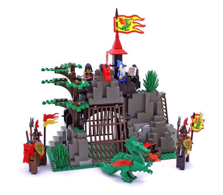 1993 LEGO Dark Dragon's Den  6076  COMPLETE w/ Instructions, Box & Poster