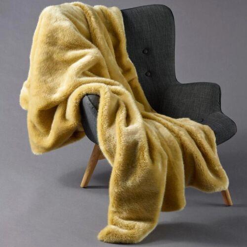 Inner Spirit Faux Throw Fur Rug Velvet Back Chartreuse|Grey|Navy|Olive|Pink|Wine