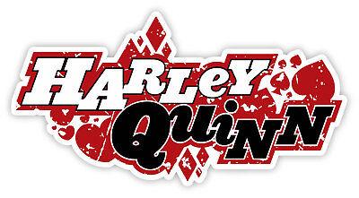 Harley Quinn Cartoon Sticker Decal Comics