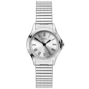 Image Is Loading Sekonda Las Stainless Steel Case Expanding Bracelet Watch