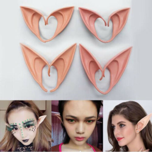 Halloween Party Cosplay Latex Pointed Prosthetic Wizard Elf Fairy Hobbit Vulcan
