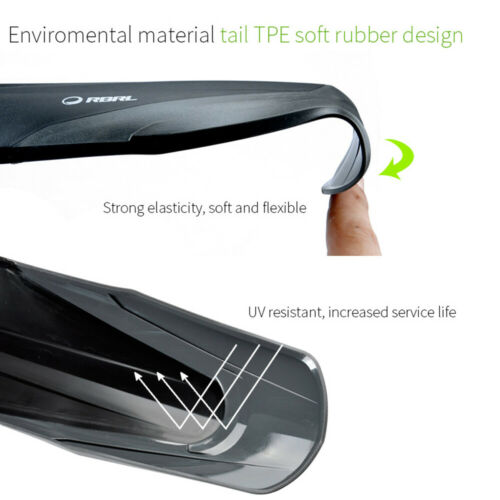 """MOUNTAIN BIKE BICYCLE MTB FRONT REAR MUDGUARDS FENDER SET  FIT 26/"""" 27,5/"""" 29/""""//"""