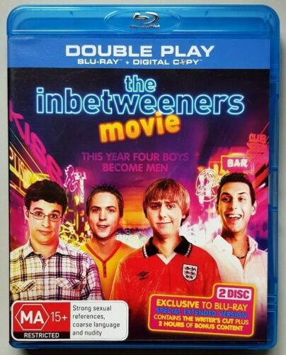1 of 1 - The Inbetweeners Movie (Double Play) BLU-RAY in LIKE NEW condition (Region B)
