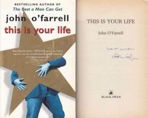 1 of 1 - This Is Your Life - John O'Farrell - SIGNED - Acceptable - Paperback