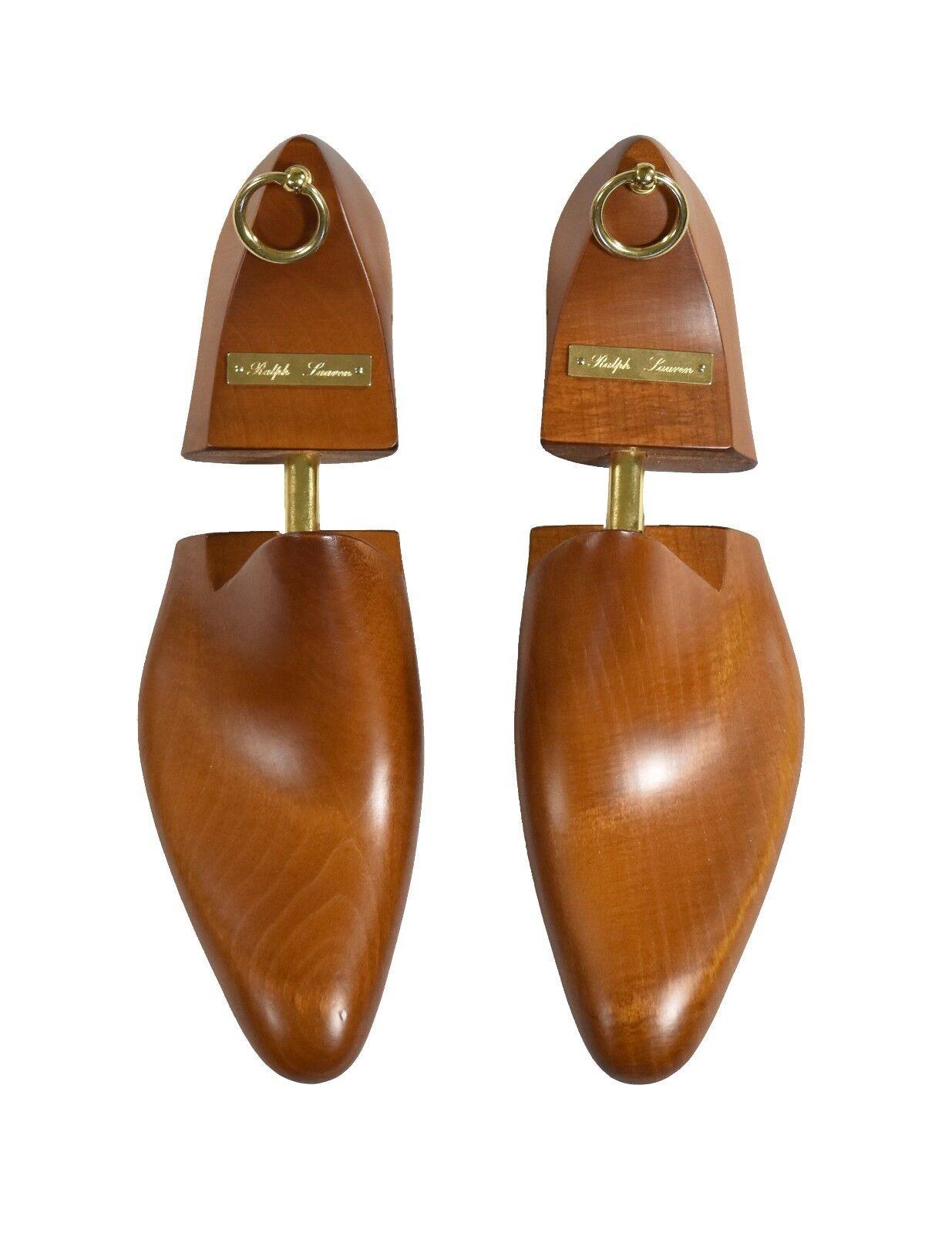 Ralph Lauren Purple Label Wood Shoe Trees New