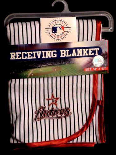 Houston Astro//Florida Marlin Baby Blanket Genuine Merchandise w//Hologram BNWT