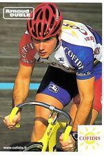 CYCLISME carte cycliste ARNAUD DUBLE équipe COFIDIS 2002