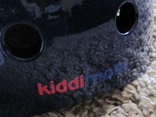 Kiddimoto Target MOD Children/'s Cycle Scooter Skate Casque Kids 48-53 cm Enfant/'s