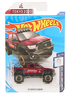 Baseball Hot Wheels NIP Olympics 2020 /'10 Toyota Tundra 2//10