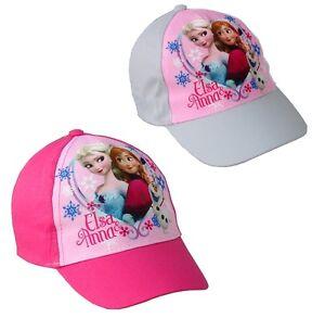 b36065db76 ... Frozen-Principesse-cappello-con-visiera-bambini-cotone-primavera-