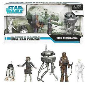 Star Wars Battle Pack Hoth Recon Patrol Nouveau Scellé