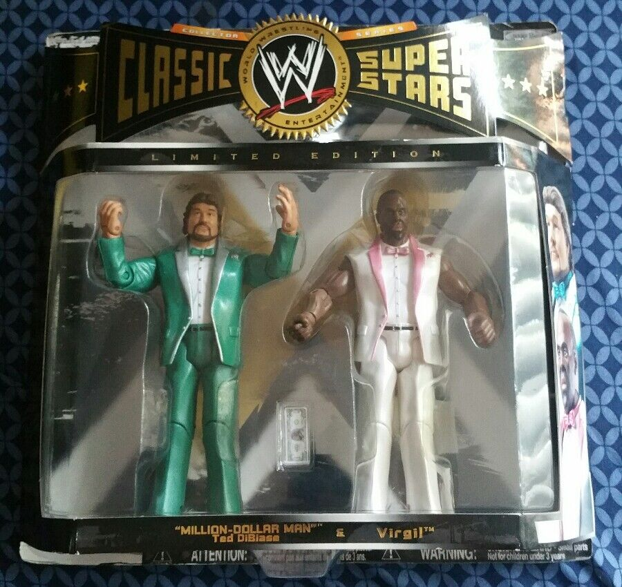 WWE Classic Superstars Collector Series  Million Dollar Man & Virgil-BRAND NEW