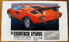 Arii 1983 Countach LP500S Owners Club Series model kit 1/24 box damage